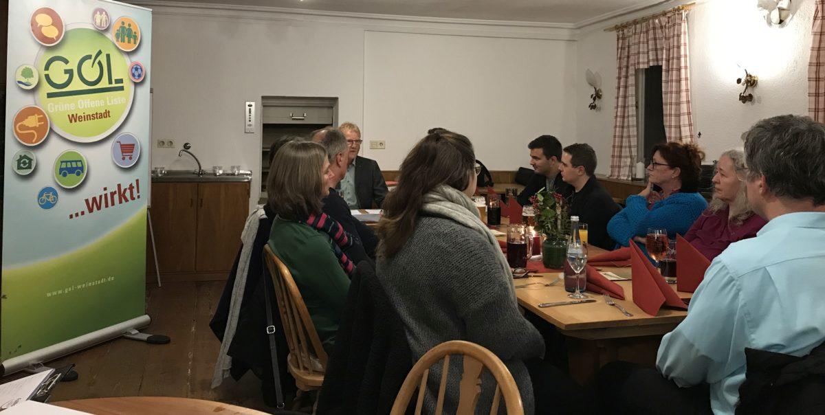 GOL beschließt Kernthemen für die Gemeinderatswahl 2019