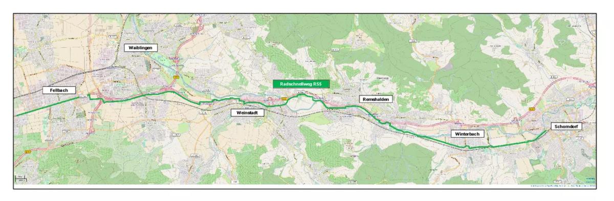 Neue Perspektive fürs Radfahren: Radschnellweg durchs Remstal